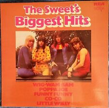 SWEET - The Sweet's Biggest Hits - LP RCA Victor SF 8316