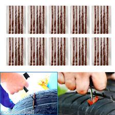 50PCS Tubeless Tire Tyre Puncture Repair Kit Strips Plug Car Van Truck Bike Bulk