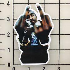 "Tupac Shakur 2pac Makaveli 4"" Tall Multi-Color Vinyl Decal Sticker - BOGO"