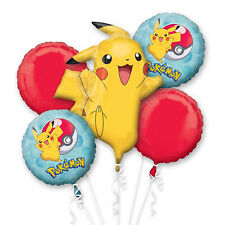 Amscan International 3633401 Pokémon Ballon en Aluminium