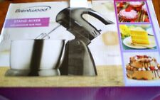 Brentwood Stand Mixer, SM-1153, 5 Speed Selection, 200 Watts, Brand New