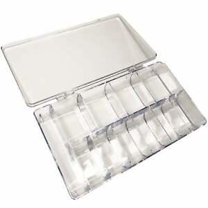 Plastic Nail Tip Box For False Nail Tips & Nails - Clear (9903)
