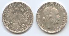 G5673 - Austria 1 Florin 1889 KM#2222 Silver Franz Joseph I.1848-1916