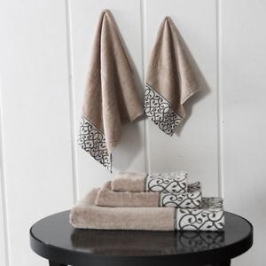 3Pcs Towel Set Hand Bath Face Towels Leopard Luxury 100% Cotton bath towel