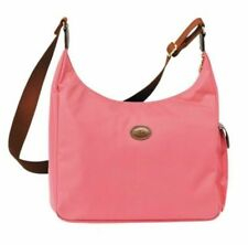 NEW Longchamp Le Pliage Convertible Hobo Crossbody Light Pink Candy