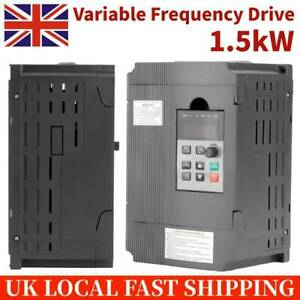 VFD Variable Frequency Drive Control Inverter Motor Drive Speed Controller 1.5kW