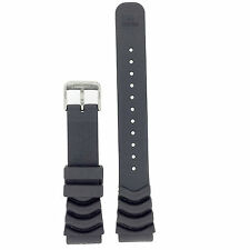 Seiko Rubber Watch Band Original 20mm SNE109 SSC031
