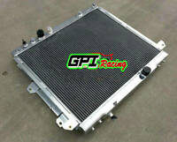 Aluminum Radiator fit TOYOTA HILUX KUN16R KUN26R 3.0 Turbo Diesel 2005-2015 AT