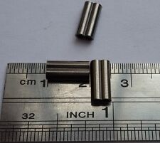 New 50ps Black double copper leader sleeves crimps  1.8/10mm 190-240lb DCC18