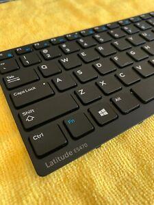 Genuine Dell Latitude E5470 US Layout Keyboard inc FRAME (Single Point)