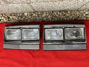 "Volvo US 240 242 244 246 Turbo USA Doppelscheinwerfer headlight ""E"" Scheinwerfer"