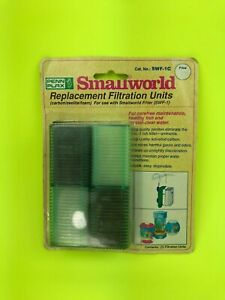 Penn-Plax Smallworld Replacement Filtration Units Cartridge Filters Package 1990