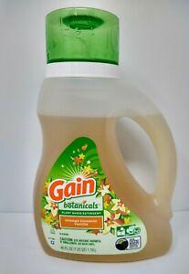 Gain Botanicals Plant Based Laundry Detergent Orange Blossom Vanilla 40 oz