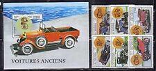 Benin 987-93 Antique Automobiles Mint NH