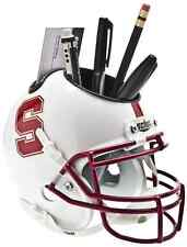 STANFORD CARDINAL NCAA Schutt Mini Football Helmet DESK CADDY