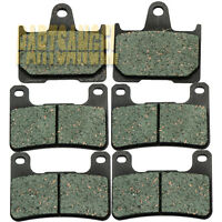 F+R Motorcycle Brake Pads For Suzuki GSXR 600 GSXR 750 GSXR 1000 2004-2006 2005