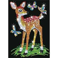 Sequin Art Junior Fawn Craft Kit 0710 FREE POSTAGE