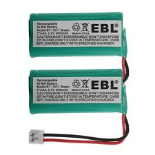 2x 900mAh Cordless Home Phone Battery for AT&T LUCENT BT18433 BT28433 DECT-4096