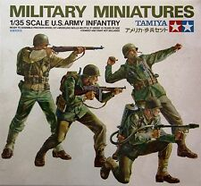 Tamiya 35013: 1/35 WWII US Army Infantry (4 Figures)
