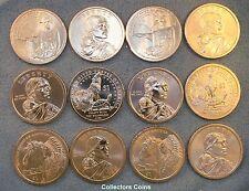 2012 - 2014 $1 Sacagawea Native American 12 PD & Pos A/B BU Set from Mint Rolls