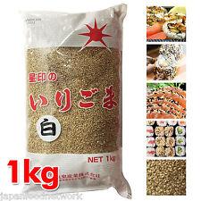 Roasted White Sesame Seeds 1kg