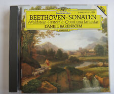 Beethoven Klaviersonaten Barenboim `` Waldstein ``  CD Album 423 577-2