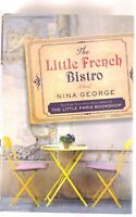 The Little French Bistro by Author Nina George hardcover book