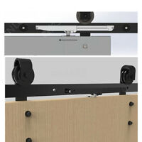 Soft Close Mechanism Remission Accessory for Sliding Barn Wood Door Hardware