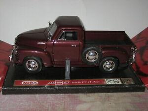 1/18 Scale Mira 1953 Chevy Pickup Truck