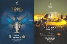 UEFA Programme Final Bundle 2017 - Champion's League / Europa League