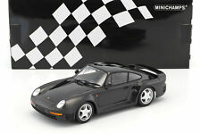 Promo: Porsche 959 Dark Grey Of 1987 to the / Of 1/18 Of MINICHAMPS 155066205