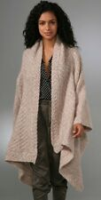 TWELFTH STREET by Cynthia Vincent Mohair Wool Open Front Blanket Sweater Size S