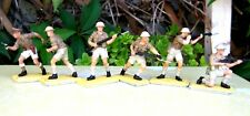 Britains Deetail WW2 British 8th Army Infantry Full Set of 6