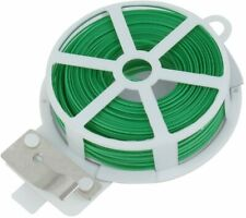 Garden Twist Tie Wire Cable Reel with Cutter for Gardening Plant Plant Yard Bush