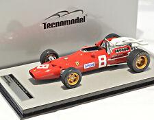 1:18 TECNO MODEL TM18-120B Ferrari 312 F1-67, Germany GP 1967, Amon #8