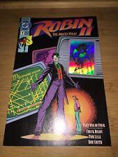 Robin ll (2) Issue #1 Comic Book Batman 1991 Joker Cover