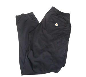 Carhartt Liberty Men's Slim Fit Black Cargo Scrub Pants C55106 SZ Medium