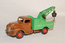 Dinky #25x, 1950's Commer Wrecker, Dark Tan Cab, White Lettering,  Original