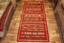Handgewebter Kelim 150x430 cm Orientteppich Nomadenteppich Nomadenkelim NEU