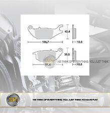 PER HONDA CBR R 125 DAL 2003 AL 2011 COPPIA PASTIGLIE FRENO POSTERIORI BRAKING S