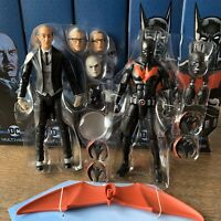 BATMAN BEYOND & ALFRED PENNYWORTH DC Multiverse no Lobo no Croc BAF SHIPS FAST!