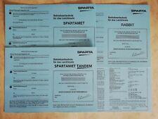 Sachs Saxonette Spartamet, Rabbit & Tandem ABE Betriebserlaubnis Sammelzwecken