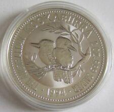 Australien 2 Dollars 1994 Kookaburra 2 Oz Silber