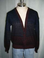 VTG 1960's Chartwell Cardigan Sweater Button Front Acrylic EUC sz LRG