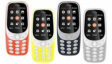 "New Nokia 3310 (Mix Colors) Duos 16MB 2.4"" 2MP - 1 Year Nokia India Warranty"