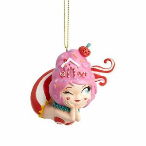 Enesco World of Miss Mindy Cotton Candy Mermaid Hanging Ornament 2.85 Inch