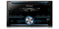 NEW Pioneer FH-S500BT Double DIN CD MP3 Digital Media Player Bluetooth MIXTRAX