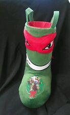Teenage Mutant Ninja Turtles Raphael Christmas Boot Stocking Nickelodeon Toy