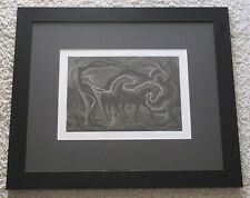 HORSE ABSTRACT EXPRESSIONIST ETCHING J. Jay McVicker Spring Madness Reply