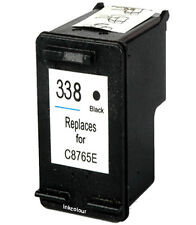 Non-OEM Replace For HP 338 Officejet 7413 H470 H470b Black Ink Cartridge